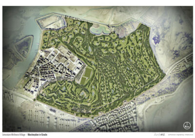 Limonium Wellness Village – Masterplan in Grado