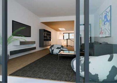 Apartments per il complesso residenziale per espatriati Agip Kco