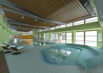 Club House per il complesso residenziale per espatriati Agip Kco