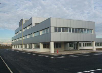 Edificio per uffici nell'interporto