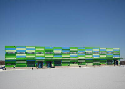Industrial Park in Stupino – First phase