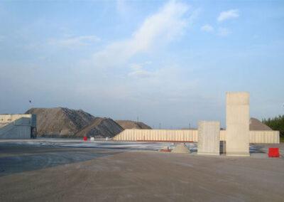 Stabilimento riutilizzo materiale industriale Global Blue