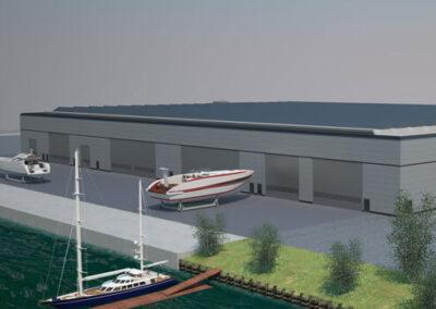 Complesso industriale per barche