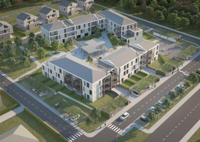 "Social Housing – Udine Nord ""Borc De Roe"" – via Biella"