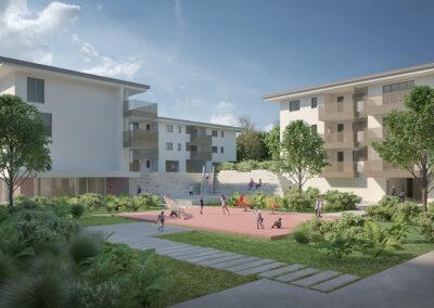 Social housing area ex Gaslini